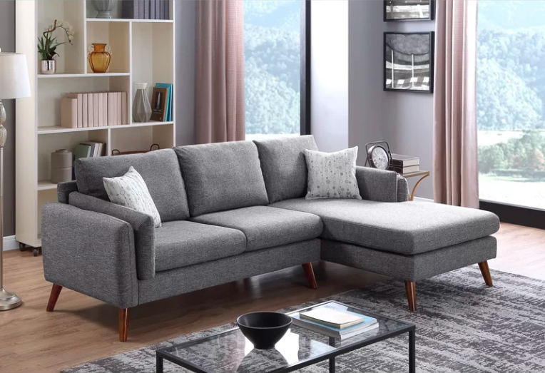 15 Comfortable Yet Chic Sectional Sofas Under $1,000 | living room .