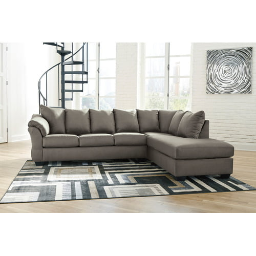 75005S4 Darcy - Cobblestone 2 Piece Sectional by Ashley Furniture .