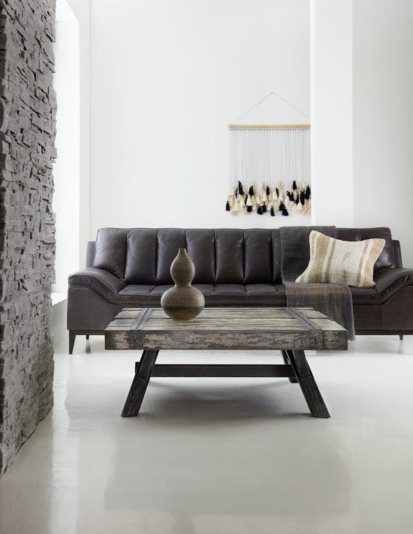 Hooker Furniture Living Room Melange Exton Cocktail Table 638 .