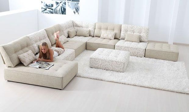 Awesome Extra Large Modular Sofa 85 In Living Room Sofa .