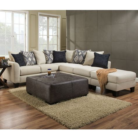 Albany Dynasty Chenille Sectional   Weekends Only Furniture and .