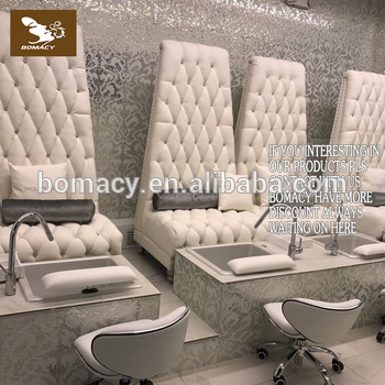 Bomacy-Single seat foot massage pedicure station spa sofa chair j