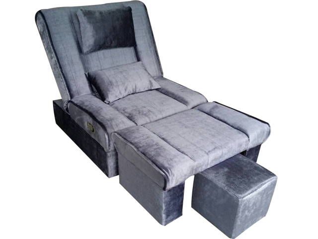 MULA-09 Fabric Adjustable Reclining Foot Massage Sofa w/ Lines .