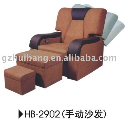 Reclining Pedicure Foot Spa Massage Sofa Chair - Buy Pedicure Foot .