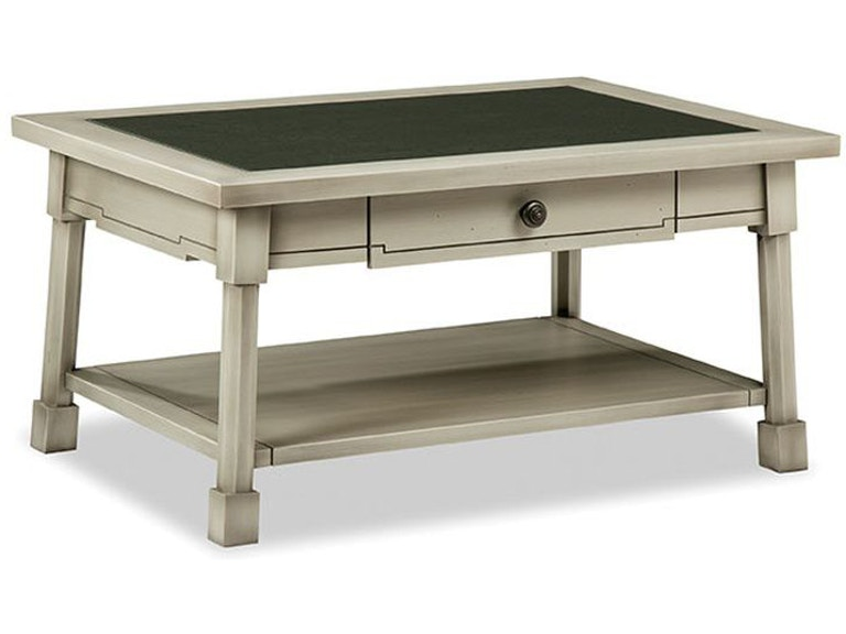 Durham Furniture Living Room Classic Foundry 1 Drw Cocktail Table .