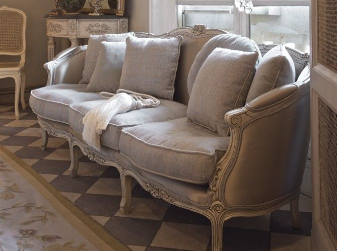 french-style-sofa-in-linen-fabric-decorating-ideas-gray-decor .