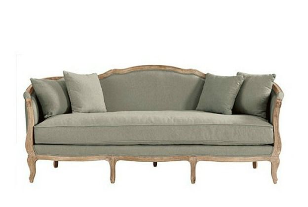 Country French Style Sofa | Country style sofas, French style sofa .