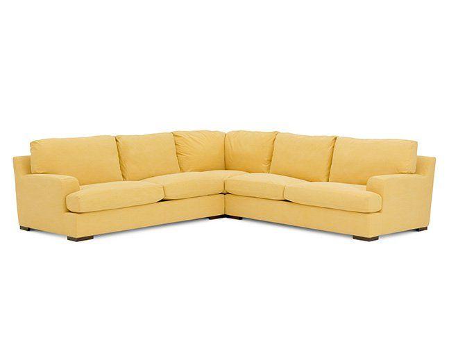 Sunrise 3 Pc. Sectional - Furniture Row | Rowe furniture .