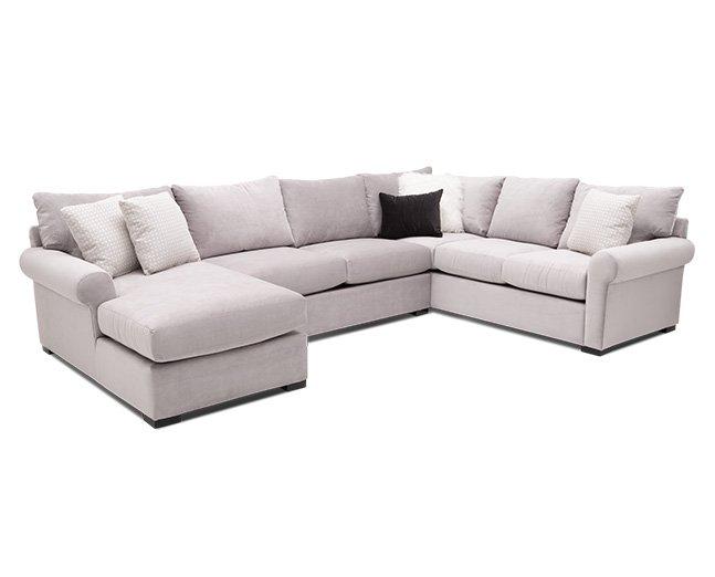 Jennifer 3 Pc. Sectional - Furniture R