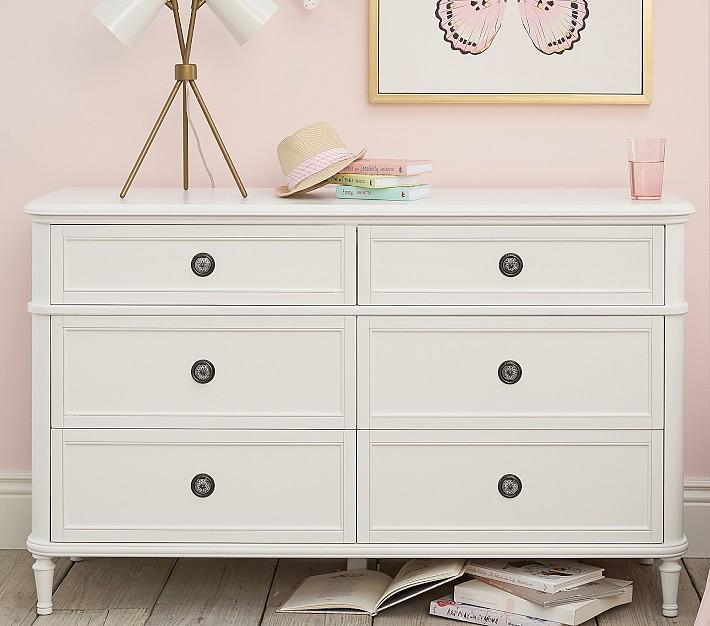 Colette Extra Wide Kids Dresser | Pottery Barn Ki