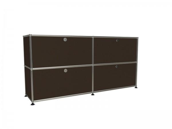 USM Haller Sideboard brown 4 folding doo