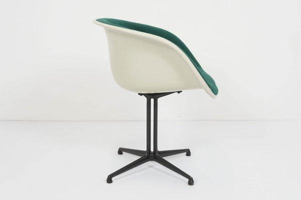 Emerald Green Model La Fonda Dining Chair by Charles Eames .