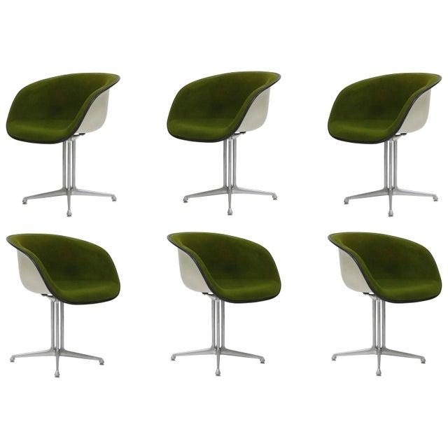 Alexander Girard & Charles Eames La Fonda Swivel Chairs for Herman .