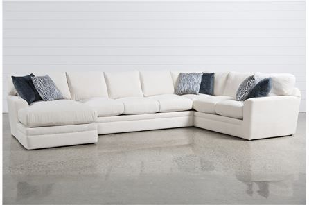 Glamour II 3 Piece Sectional | Sectional, Sofa styling, 3 piece .
