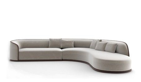 Grace by Rugiano | Luxury sofa, Sofa, Curved so