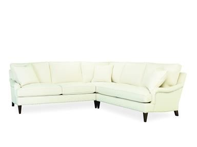 Lee Industries Sectional Series 1663-Series | Living room .