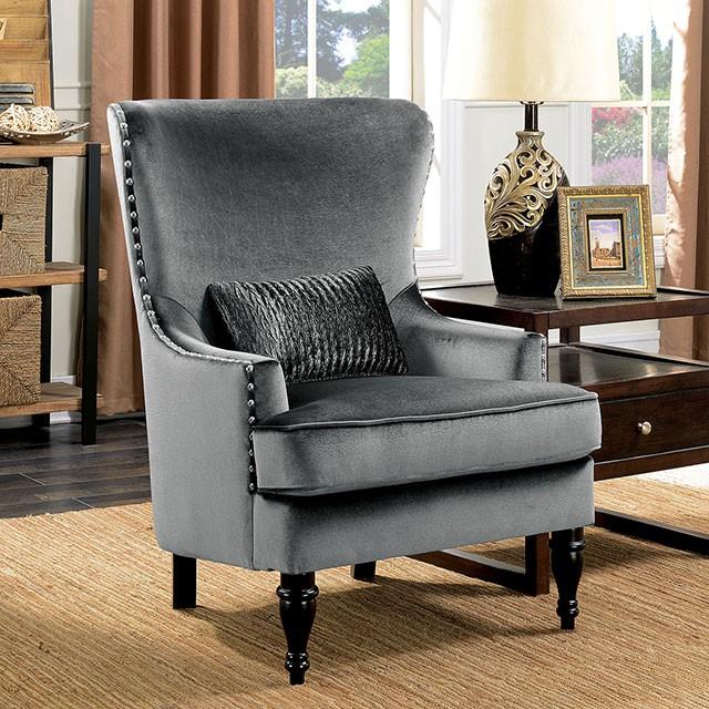 Manuela Dark Grey Sofa Set - Shop for Affordable Home Furniture .