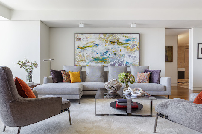 15 Ways To Style A Grey Sofa In Your Home | Décor A