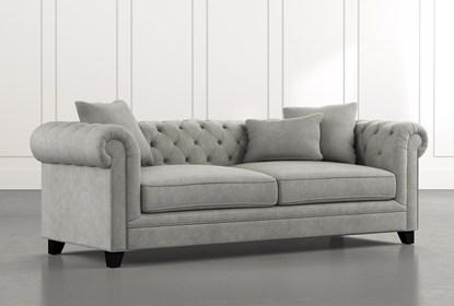 Patterson III Light Grey Sofa | Living Spac