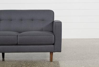 London Dark Grey Sofa | Living Spac