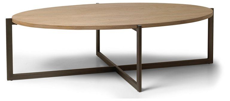Larkspur Coffee Table, Beach/Gunmetal (With images) | Coffee table .