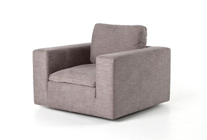 Harbor Grey Swivel Accent Chair | Living Spac