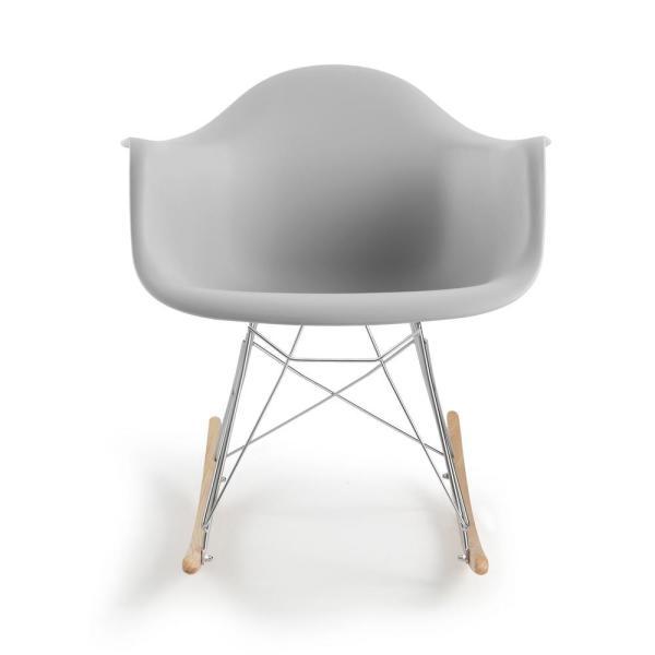 EDGEMOD Rocker Harbor Grey Lounge Chair HD-121-HRGY - The Home Dep