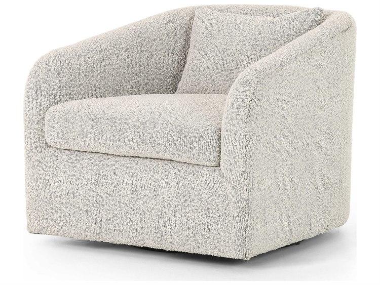 Four Hands Kensington Knoll Domino Swivel Accent Chair | FSCKEN1626