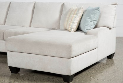 Harper Foam II 3 Piece Sectional With Right Arm Facing Chaise .