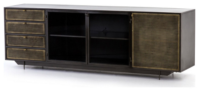 Hartigan Media Console - Entertainment Centers And Tv Stands - by .