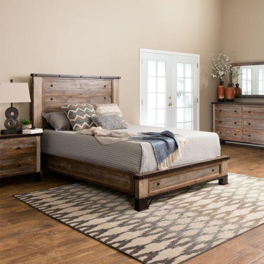Haven Bedroom Furniture Collection | Rustic Pine Bedroom S
