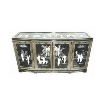 World Menagerie Helms Eight Ladies Asian Sideboard | Wayfa
