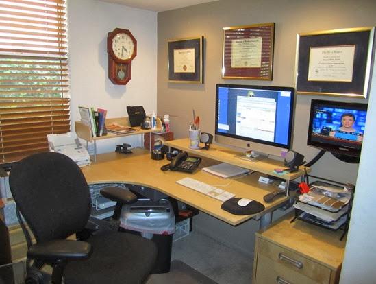 TWANIS: Ikea Computer desk – GALANT Corner de