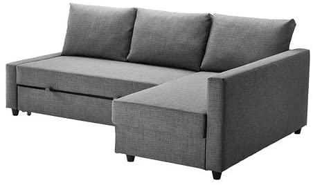 Amazon.com: Ikea Sleeper sectional, 3-seat, Skiftebo Dark Gray .