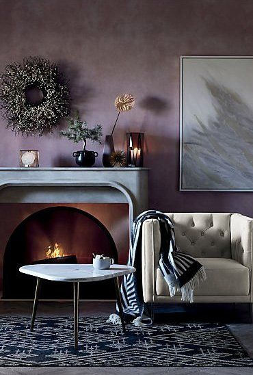 Intertwine Triangle Marble Coffee Table + Reviews | Home decor .