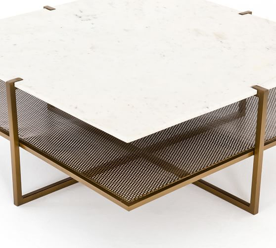 Hyla Marble Coffee Table | Pottery Ba