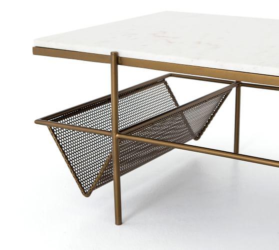 Jayden Marble Coffee Table | Pottery Ba