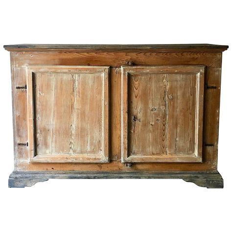 1stdibs Iron, Pine Italian Sideboard | Modern sideboard, Small .