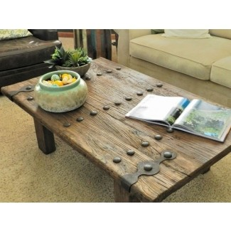 Wood And Wrought Iron Coffee Table - Ideas on Fot