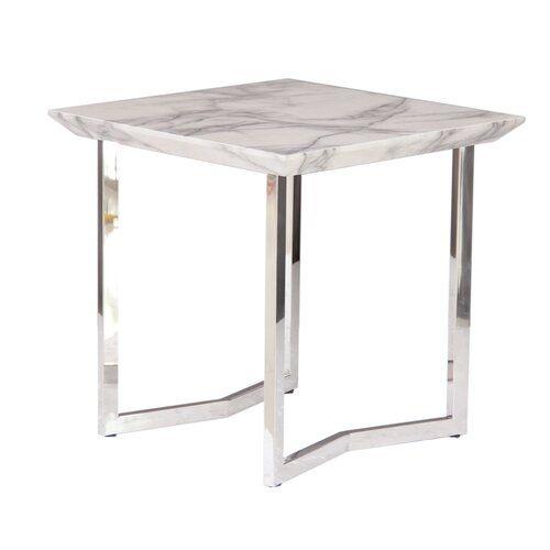 Metro Lane Fern Side Table | Square tables, End tables, Tab