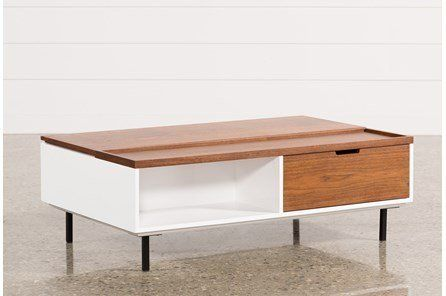 Jasper Lift-Top Cocktail Table | Coffee table, Coffee table living .
