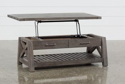 Jaxon Grey Lift-Top Coffee Table | Living Spac