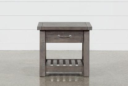 Jaxon Grey End Table | Living Spac