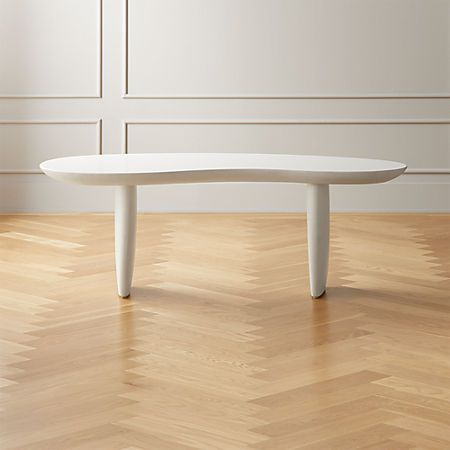 Jelly Bean Coffee Table   Leather coffee table, Modern coffee .