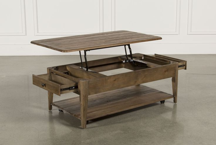 Jonah Lift-Top Coffee Table | Coffee table, Living table, Tab