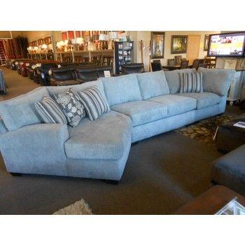 Josephine 3 Piece Cuddler Sectional $1269 | Living room renovation .