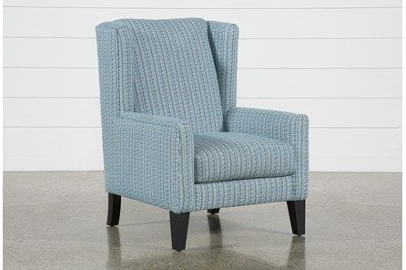 Josephine Marine Accent Chair | Accent chairs, Chair, Wingback .