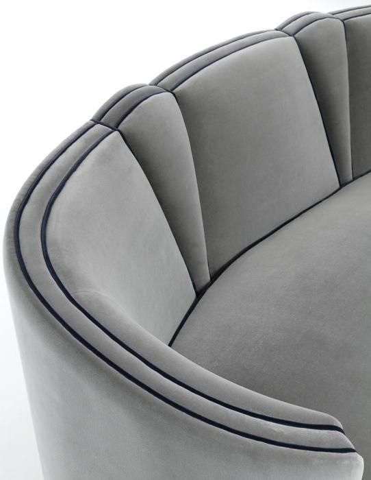 Josephine Sofa by Munna Design #munnadesign #sofa #couture .
