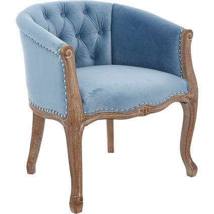 Blue Velvet Josephine Chair 77 x 65.5cm | Stylish furniture, Chair .