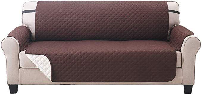 Elaine Karen Deluxe Reversible Extra Wide Sofa Furniture Protector .